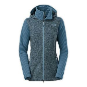 The North Face Womens Indi Insulated Hoodie Blue S